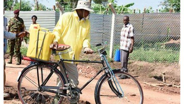 Rais wa Uganda