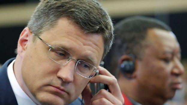 Ministro de Energía de Rusia y secretario general de la OPEP.