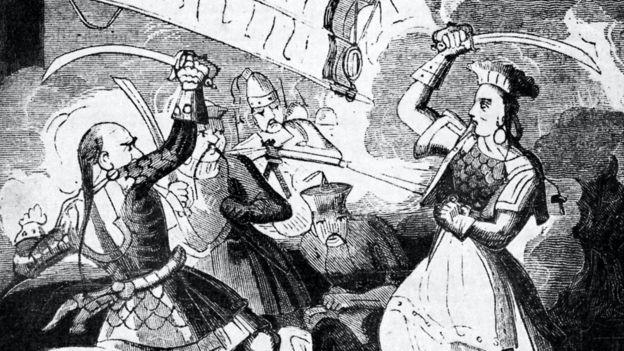 Margot Robbie pirates of the caribbean, film, bajak laut, perempuan, Gambar Ching Shih di abad ke-19