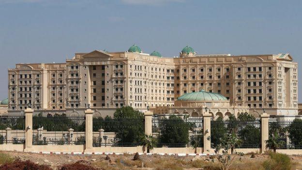 The Ritz-Carlton hotel in Riyadh, Saudi Arabia.