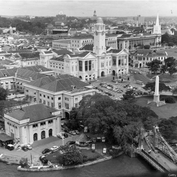 Cingapura em 1965