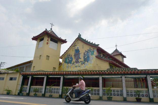 台南鹽水天主堂
