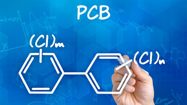 Fórmula química de PCB