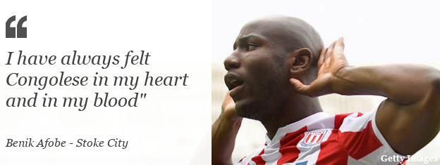 """Benik Afobe: """"I have always felt Congolese in my heart and in my blood"""""""