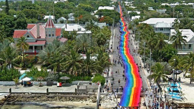 Bandeira arco-íris