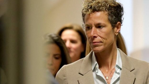 Andrea Constand asistió a la audiencia de sentencia de Cosby este lunes.