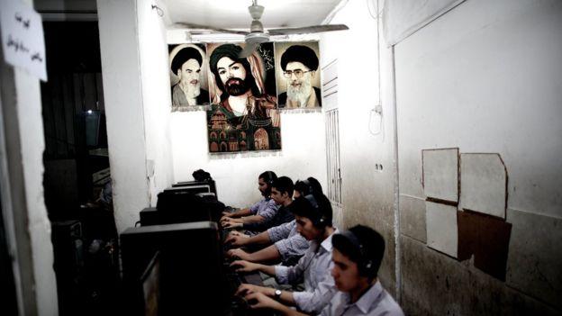компьютерный клуб в Иране