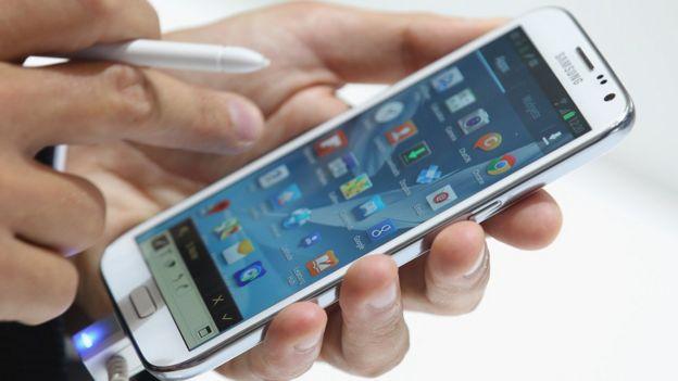 Celular de Samsung