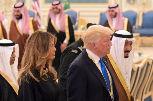 Melani Trump ve Donald Trump