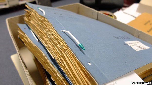 Folders of notes