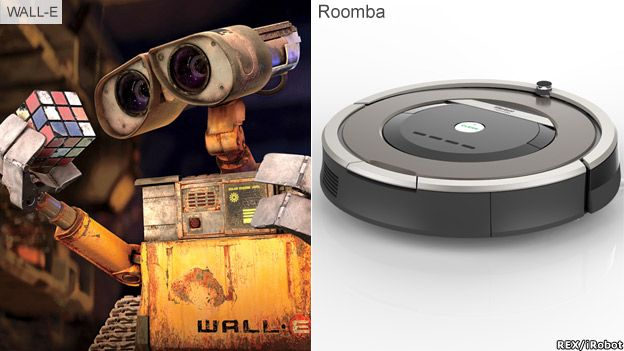 Wall_E and Roomba