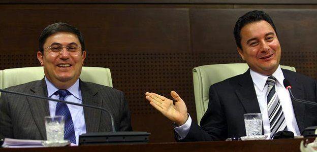 İbrahim Çanakçı ve Ali Babacan