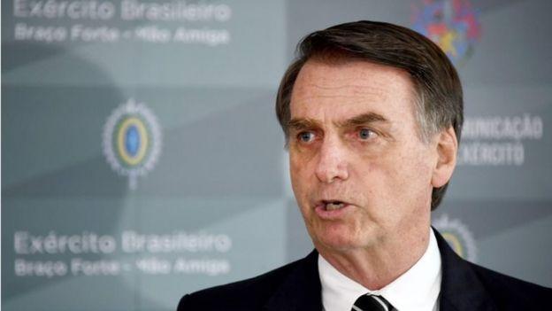 Jair Bolsonaro em 5 de dezembro de 2018