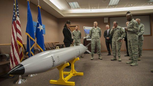 Base da Força Aérea de Kirtland, em Albuquerque