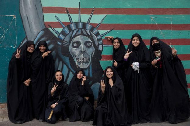 Iran protes AS