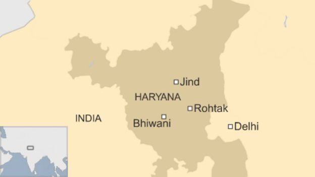 India caste violence leaves one dead at Rohtak protest - BBC