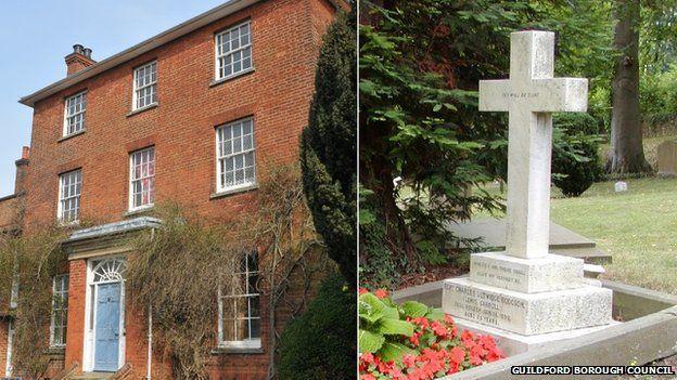 Chestnuts and Dodgson's grave