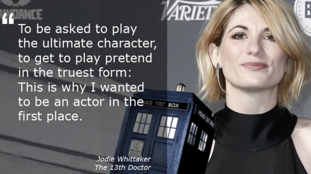 Jodie Whittaker: Doctor Who's 13th Time Lord to be a woman - BBC News