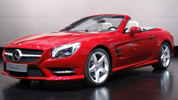 Carro da Mercedes-Benz