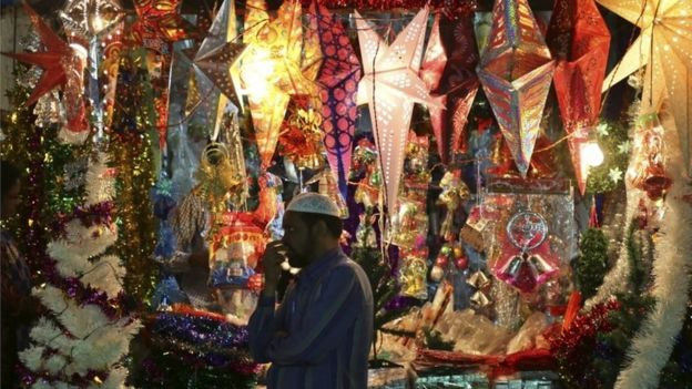 Christmas In India Images.How Indians Are Celebrating Christmas Bbc News