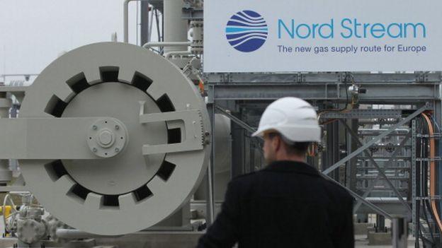 La primera fase del Nord Stream