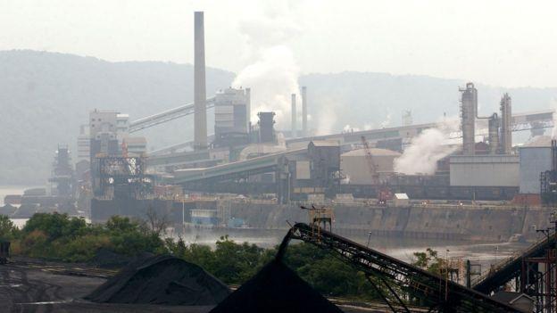 Producción de carbón en Estados Unidos
