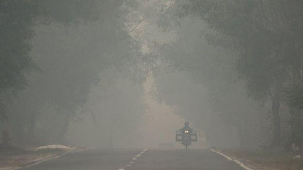Haze in Palangkaraya