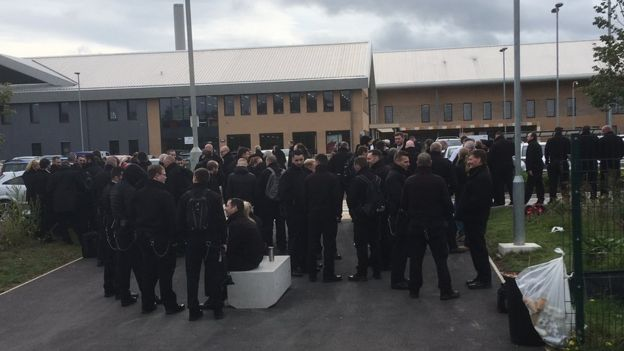 Protests at HMP Berwyn