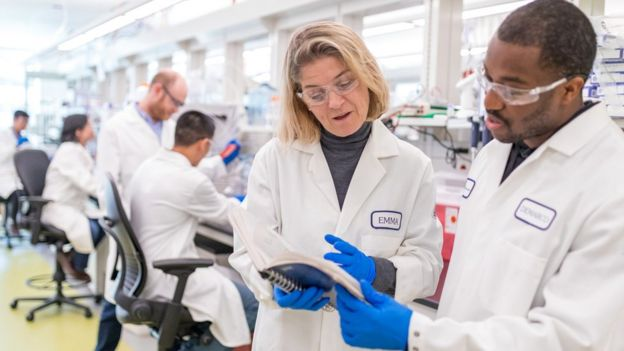 Laboratório da BMS onde são desenvolvidos imuno-oncológicos