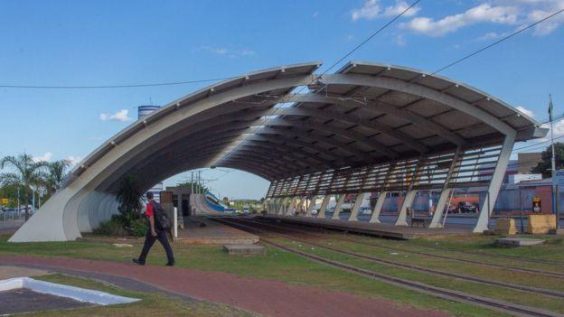 Estação do VLT, abandonada