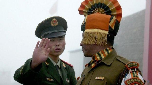China e India tienen un largo historial de disputas fronterizas.