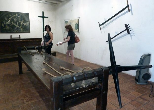 Museo en Cartagena, Colombia.