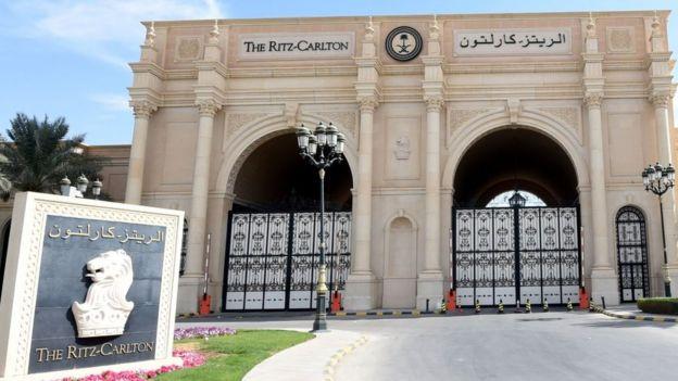 Hotel Ritz-Carlton.