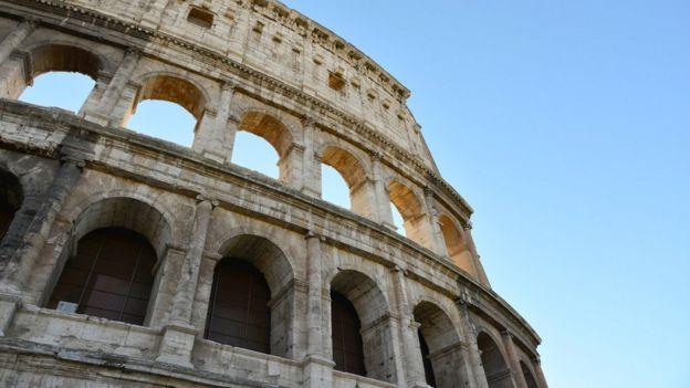Vistas del Coliseo de Roma