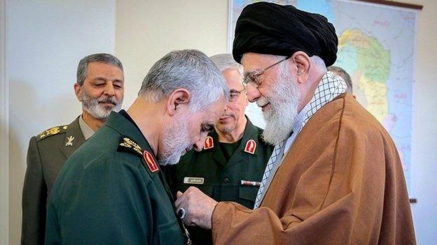 خامنهای و قاسم سلیمانی