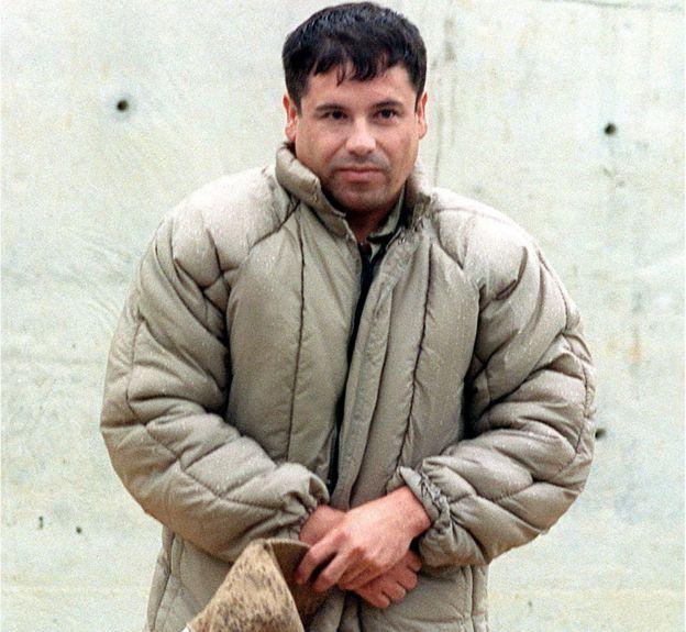 "Joaquin Guzman Loera, Known as ""El Chapo"" is pictured on July 10, 1993"