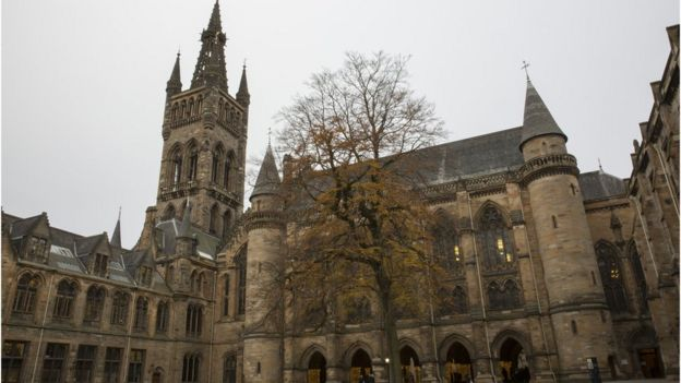 The University of Glasgow is one of the oldest in the world but its new building was completed in the late 19th Century