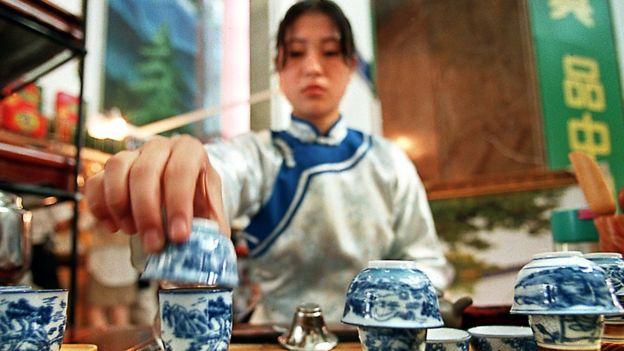 Ceremonia del té en China