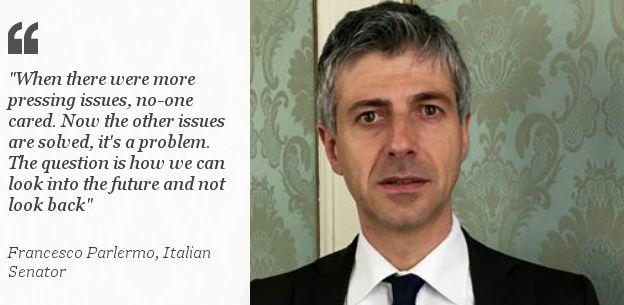 Francesco Palermo, Italian Senator