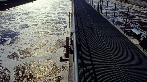 Aguas residuales tratadas