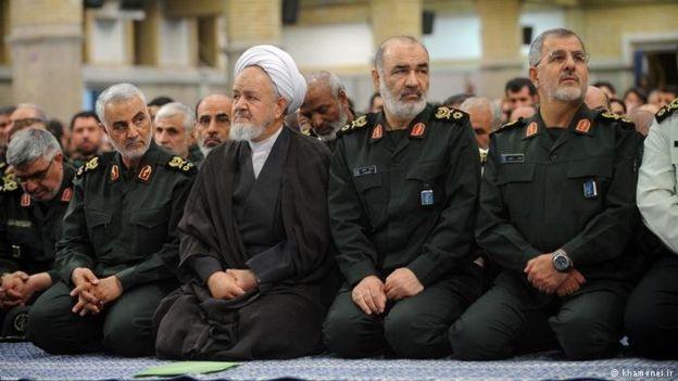 علی سعیدی نخستین نماینده ولی فقیه سپاه بود که سابقه زیادی در قسمتهای دیگر این نهاد نظامی داشت