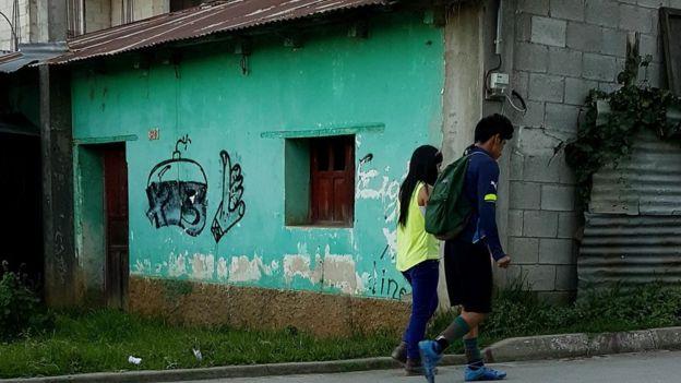 Los alrededores del estadio municipal de Chichicastenango.