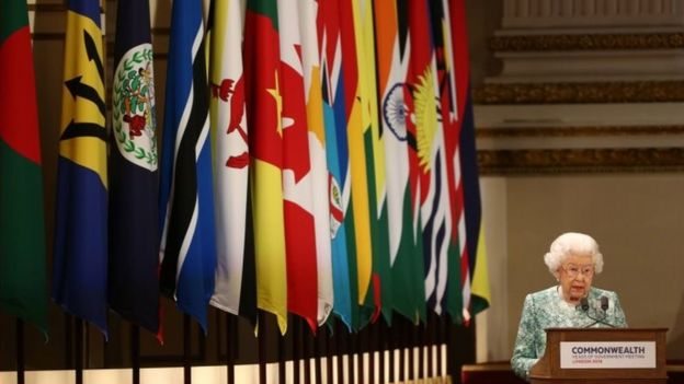 英女王在英聯邦峰會上致開幕辭
