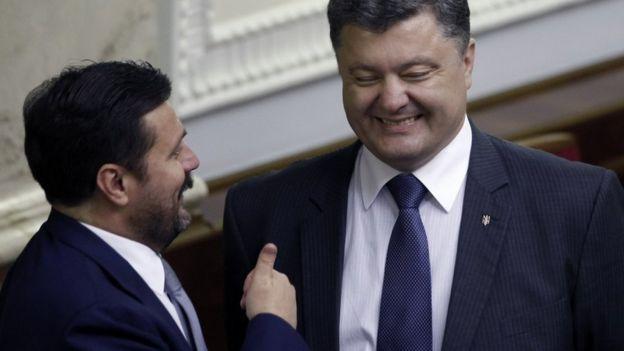 Деркач и Порошенко