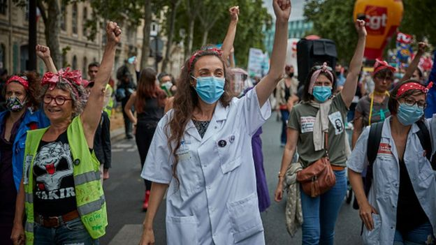 Протесты медиков