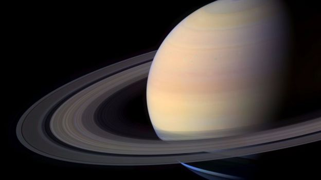 The Cassini probe will end its mission by dumping itself in Saturn's atmosphere