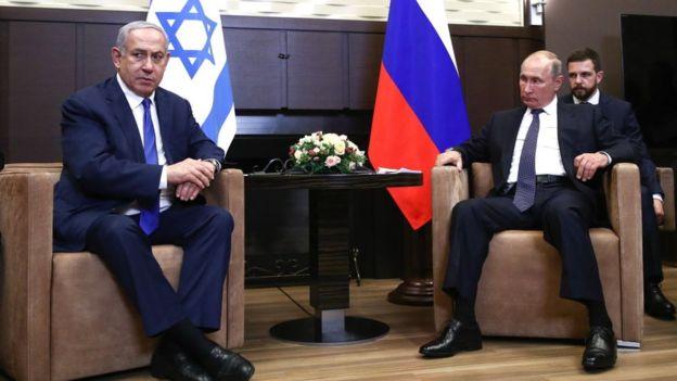 Израильтяне скандально поприветствовали Путина в Израиле
