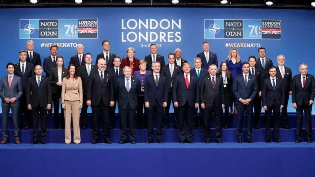 Pemimpin negara yang tergabung dalam NATO.