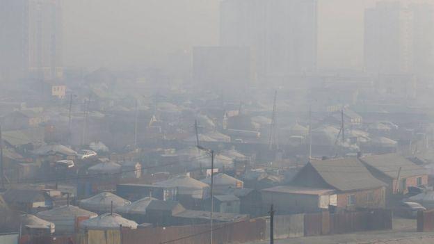 มลพิษในมองโกเลีย