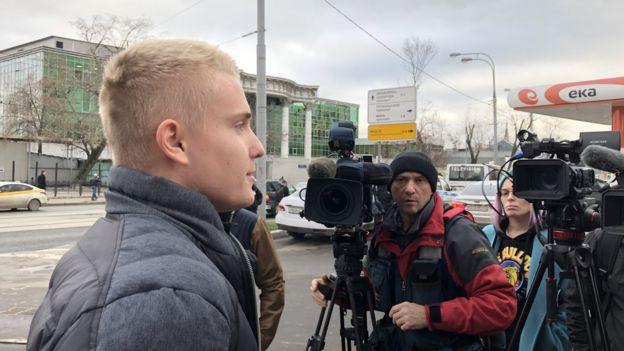 Сержант полиции Михаленок